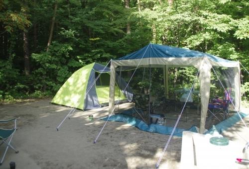 テントやタープ