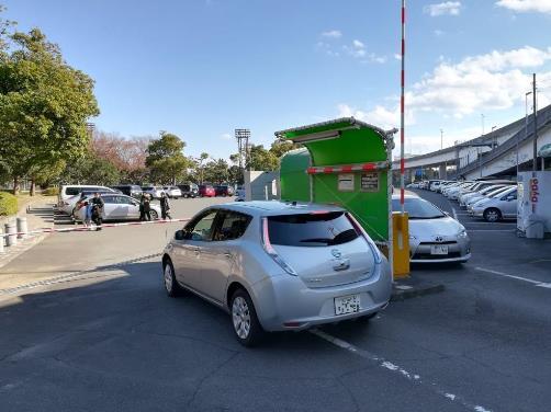 本牧市民公園の駐車場