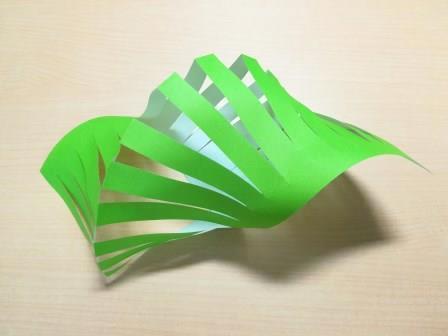 笹の葉折り紙
